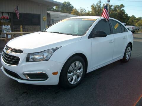 2016 Chevrolet Cruze Limited for sale at Lentz's Auto Sales in Albemarle NC