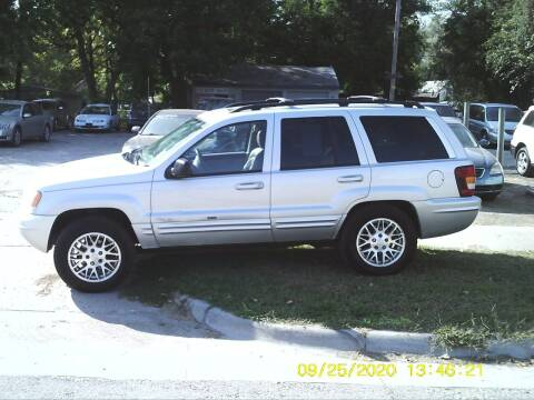 2003 Jeep Grand Cherokee for sale at D & D Auto Sales in Topeka KS