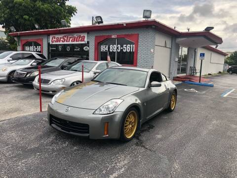 2006 Nissan 350Z for sale at CARSTRADA in Hollywood FL