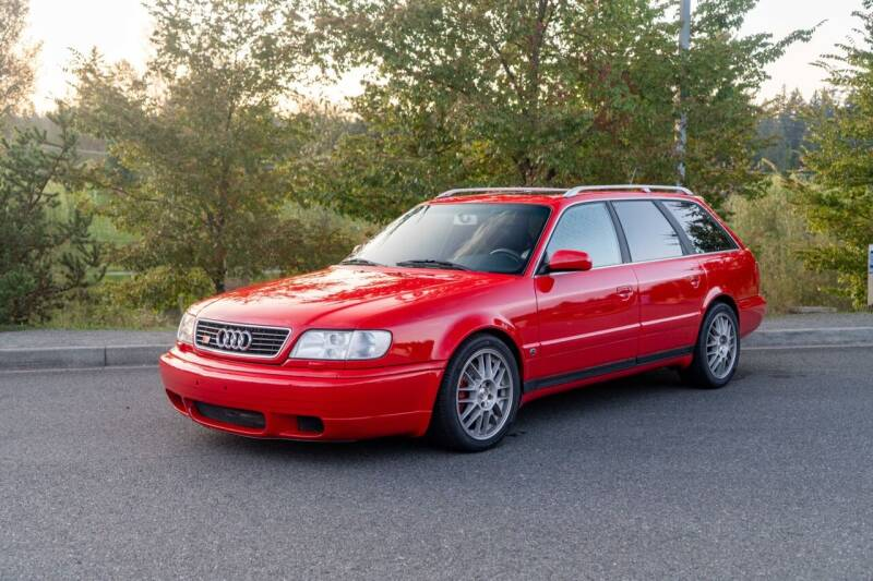 1995 Audi S6 for sale at Zadart in Bellevue WA