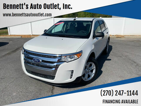 2013 Ford Edge for sale at Bennett's Auto Outlet, Inc. in Mayfield KY