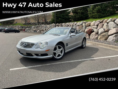2003 Mercedes-Benz SL-Class for sale at Hwy 47 Auto Sales in Saint Francis MN