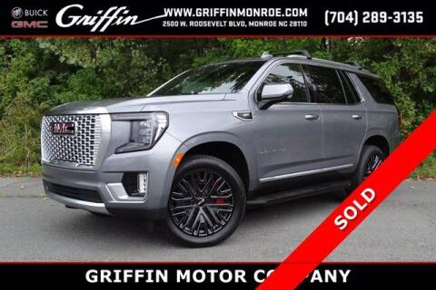 2021 GMC Yukon for sale at Griffin Buick GMC in Monroe NC