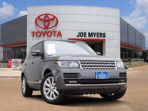 2017 Land Rover Range Rover for sale at Joe Myers Toyota PreOwned in Houston TX