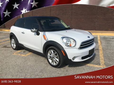 2014 MINI Paceman for sale at Savannah Motors in Cahokia IL