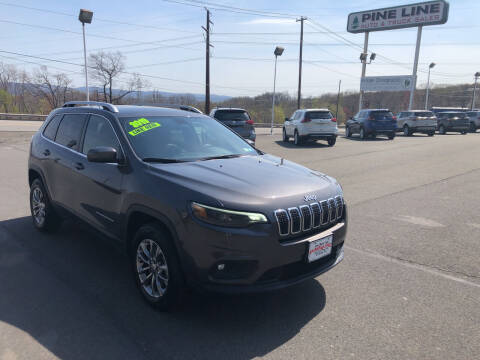 2019 Jeep Cherokee for sale at Pine Line Auto in Eynon PA