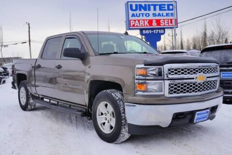 2014 Chevrolet Silverado 1500 for sale at United Auto Sales in Anchorage AK