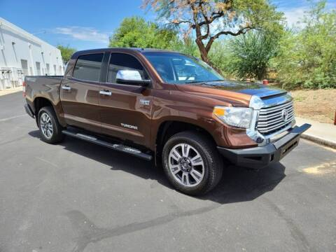 2017 Toyota Tundra for sale at NEW UNION FLEET SERVICES LLC in Goodyear AZ