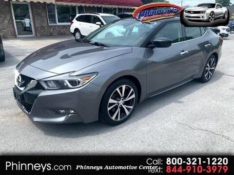 2017 Nissan Maxima for sale at Phinney's Automotive Center in Clayton NY