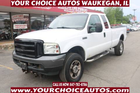 2005 Ford F-350 Super Duty for sale at Your Choice Autos - Waukegan in Waukegan IL