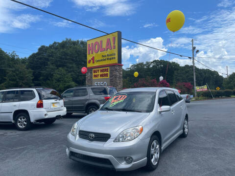 2005 Toyota Matrix for sale at No Full Coverage Auto Sales in Austell GA