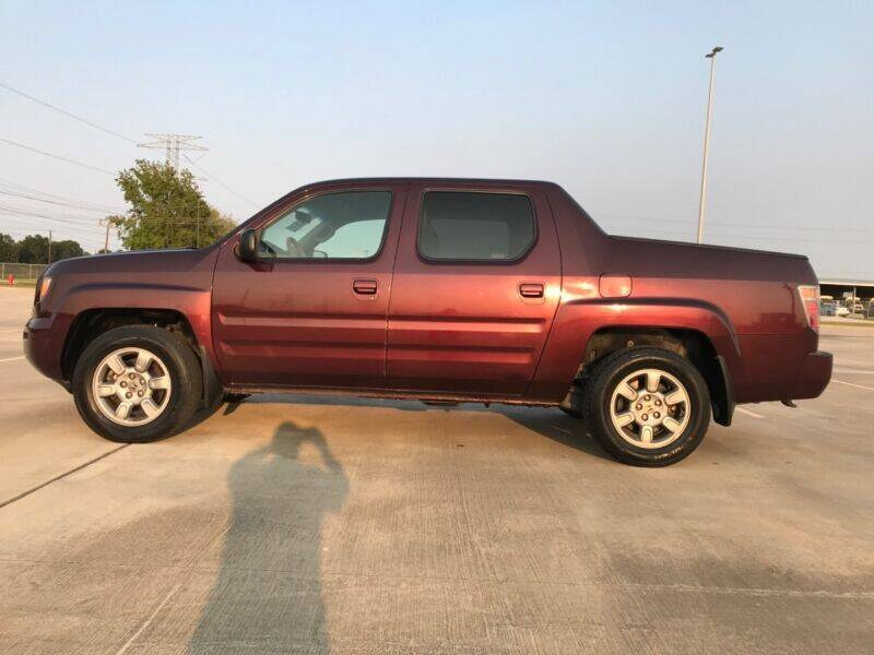 2008 Honda Ridgeline for sale at ALL AMERICAN FINANCE AND AUTO in Houston TX