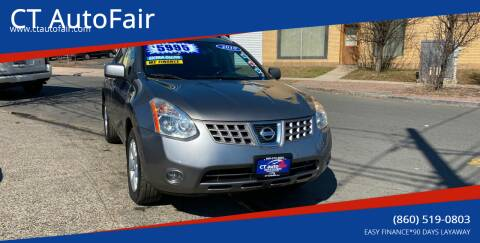 2009 Nissan Rogue for sale at CT AutoFair in West Hartford CT