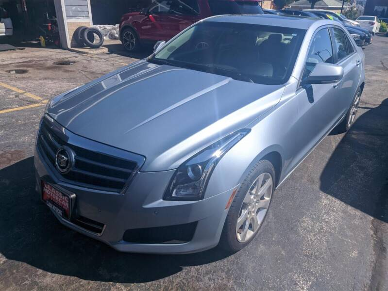 2013 Cadillac ATS for sale at CLASSIC MOTOR CARS in West Allis WI