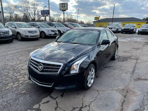 2014 Cadillac ATS for sale at Dean's Auto Sales in Flint MI