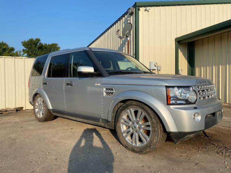 2012 Land Rover LR4 for sale at CAVENDER MOTORS in Van Alstyne TX