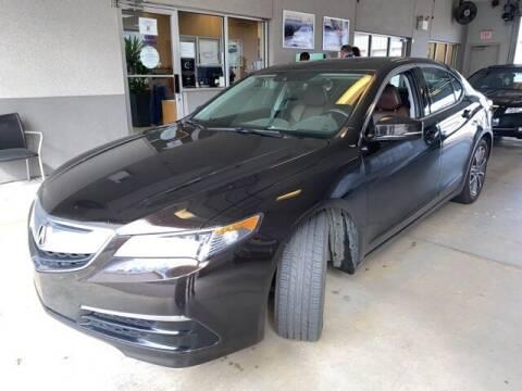2015 Acura TLX for sale at JOE BULLARD USED CARS in Mobile AL