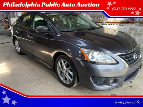 2013 Nissan Sentra for sale at Philadelphia Public Auto Auction in Philadelphia PA