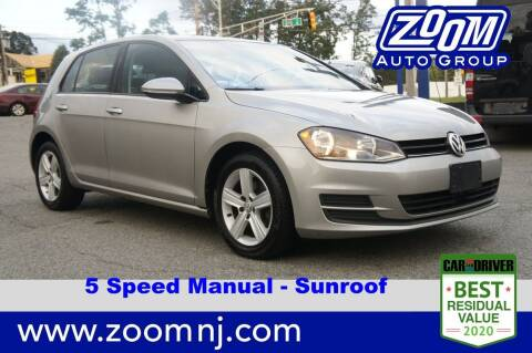 2017 Volkswagen Golf for sale at Zoom Auto Group in Parsippany NJ