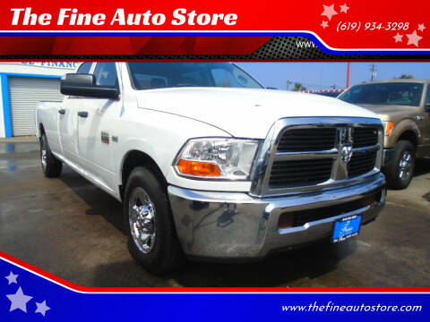 2012 RAM Ram Pickup 2500 for sale at The Fine Auto Store in Imperial Beach CA