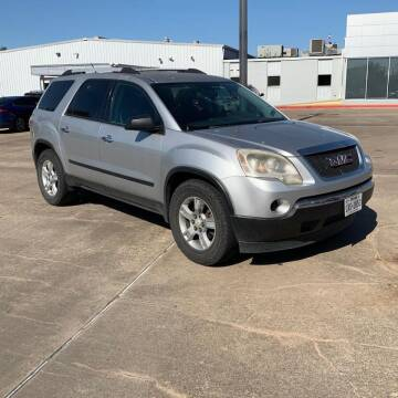 2010 GMC Acadia for sale at GLOBAL MOTOR GROUP in Newark NJ