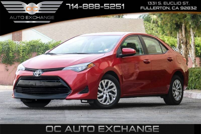 2017 Toyota Corolla for sale in Fullerton, CA