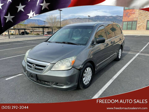 2007 Honda Odyssey for sale at Freedom Auto Sales in Albuquerque NM