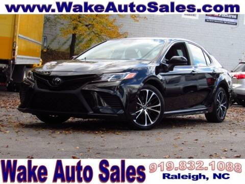 2019 Toyota Camry for sale at Wake Auto Sales Inc in Raleigh NC