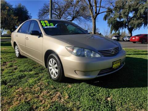 2005 Toyota Camry for sale at D & I Auto Sales in Modesto CA