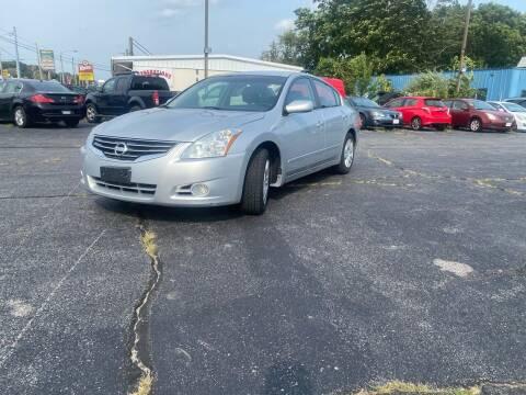 2010 Nissan Altima for sale at M & J Auto Sales in Attleboro MA