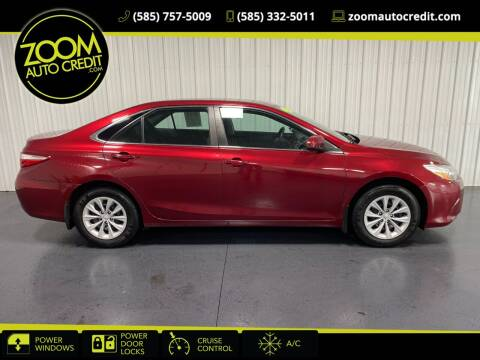 2015 Toyota Camry for sale at ZoomAutoCredit.com in Elba NY
