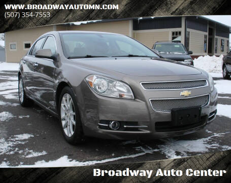 2010 Chevrolet Malibu for sale at Broadway Auto Center in New Ulm MN