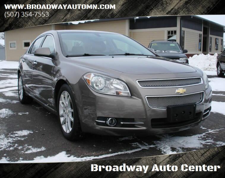 2010 Chevrolet Malibu for sale at Broadway Auto Center in New Ulm MN