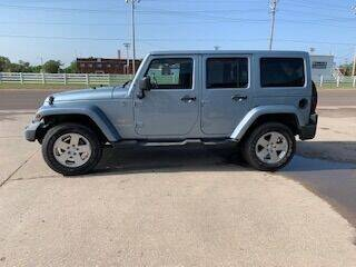 2012 Jeep Wrangler Unlimited for sale at J & S Auto in Downs KS