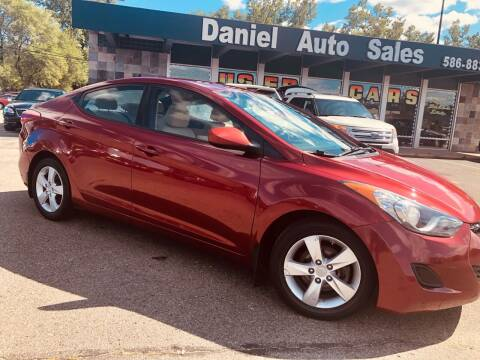 2013 Hyundai Elantra for sale at Daniel Auto Sales inc in Clinton Township MI
