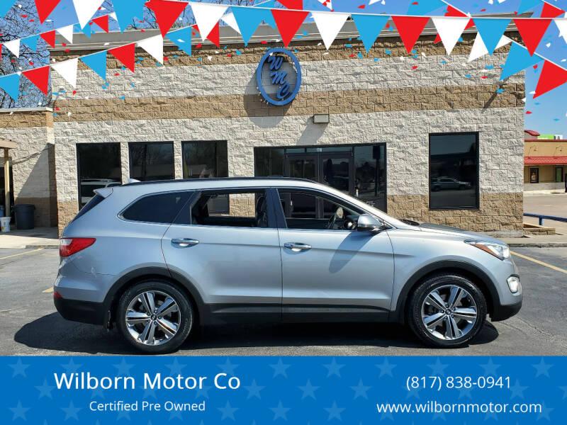 2015 Hyundai Santa Fe for sale at Wilborn Motor Co in Fort Worth TX