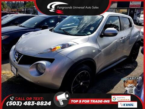 2011 Nissan JUKE for sale at Universal Auto Sales in Salem OR