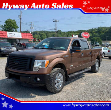 2012 Ford F-150 for sale at Hyway Auto Sales in Lumberton NJ