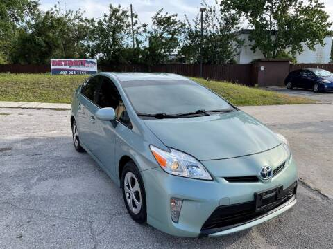 2013 Toyota Prius for sale at Detroit Cars and Trucks in Orlando FL