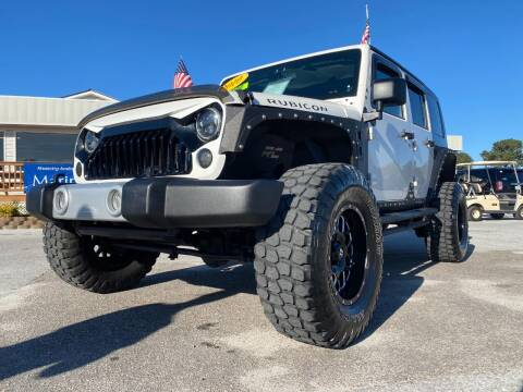 2010 Jeep Wrangler Unlimited for sale at Gary's Auto Sales in Sneads NC
