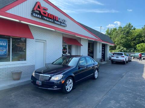 2010 Mercedes-Benz C-Class for sale at AG AUTOGROUP in Vineland NJ