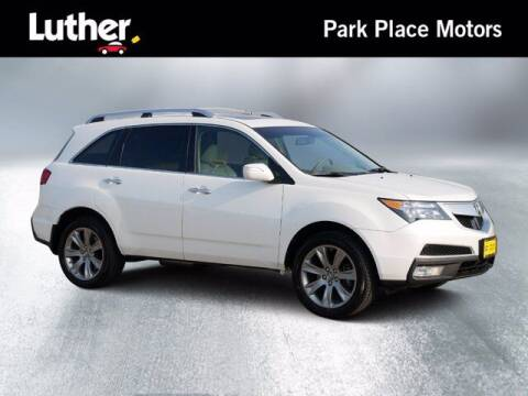 2012 Acura MDX for sale at Park Place Motor Cars in Rochester MN