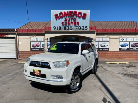 2012 Toyota 4Runner for sale at Romeros Auto Center in Tulsa OK
