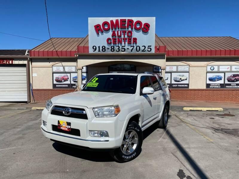 2012 Toyota 4Runner for sale at Romeros Auto Center in Tulsa OK
