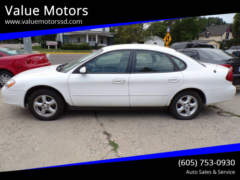 2000 Ford Taurus for sale at Value Motors in Watertown SD