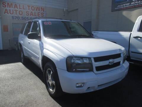 2008 Chevrolet TrailBlazer for sale at Small Town Auto Sales in Hazleton PA