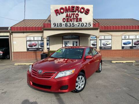 2011 Toyota Camry for sale at Romeros Auto Center in Tulsa OK