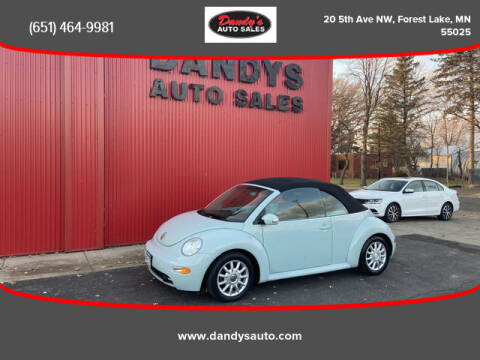 2004 Volkswagen New Beetle Convertible for sale at Dandy's Auto Sales in Forest Lake MN