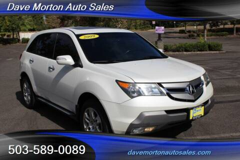 2009 Acura MDX for sale at Dave Morton Auto Sales in Salem OR