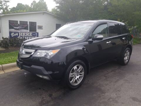 2008 Acura MDX for sale at TR MOTORS in Gastonia NC